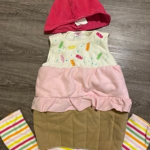 Fleece Cupcake Costume
